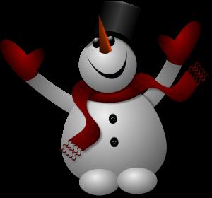 bonhomme neige 300px
