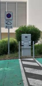 borne recharge electrique