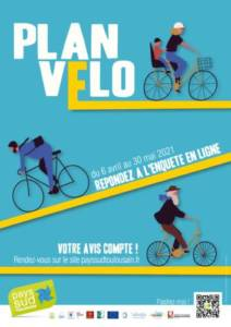 affiche plan vélo